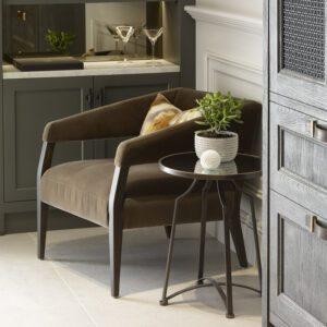 Dusky Green Lounge Chair